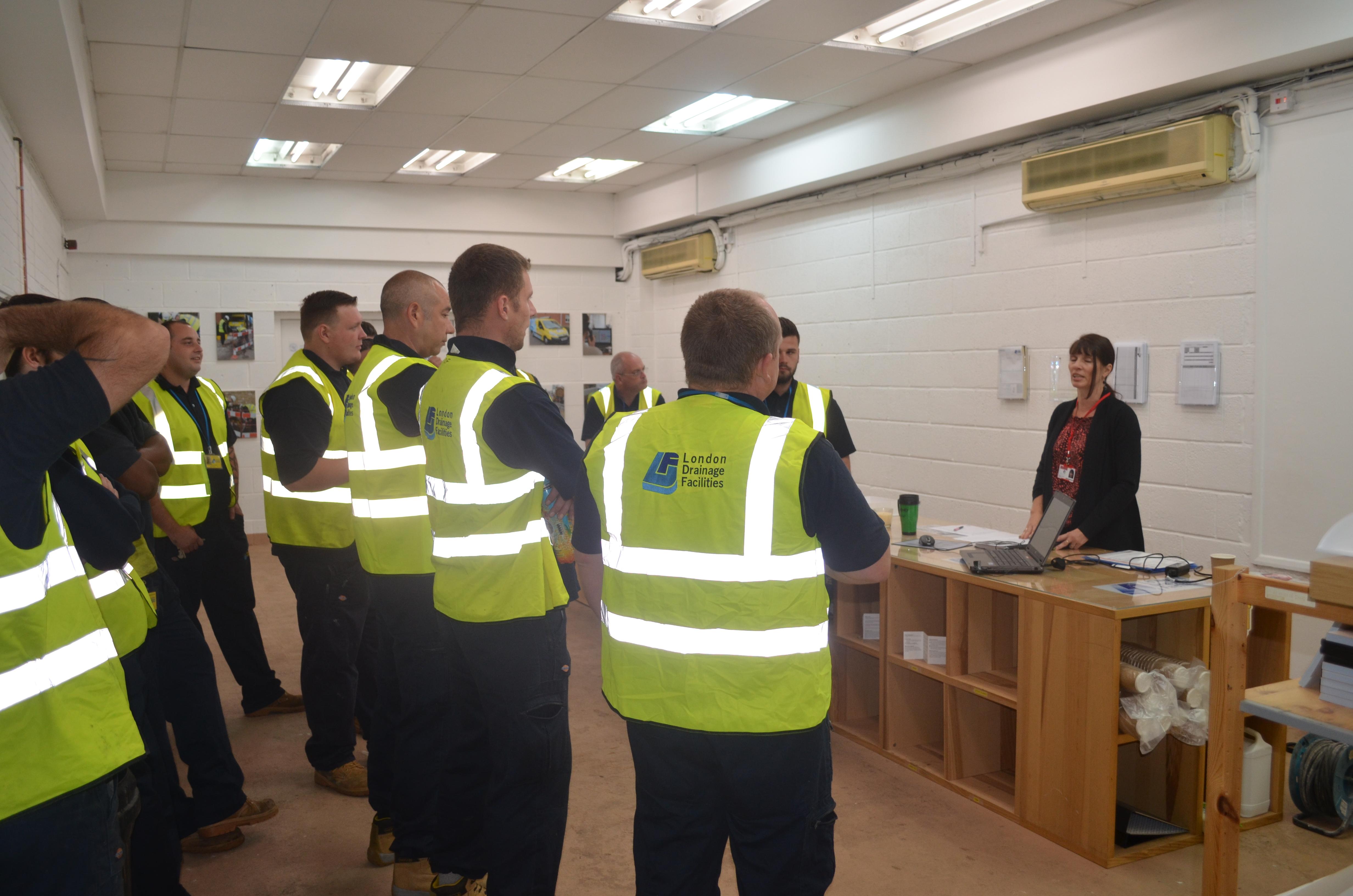 London Drainage Services: London Drainage Facilities' Engineers Undergo Intensive