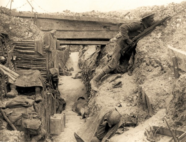 Cheshire Regiment Trench, Somme, 1916