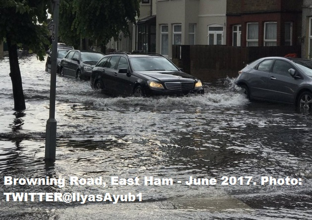 Browning Road East Ham Picture - TWITTER@IlyasAyub1