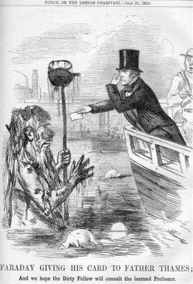 FaradayFatherThames - The Great Stink 1858