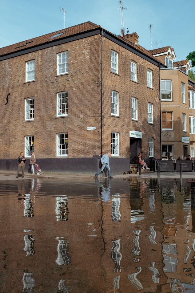 Richmond flooded