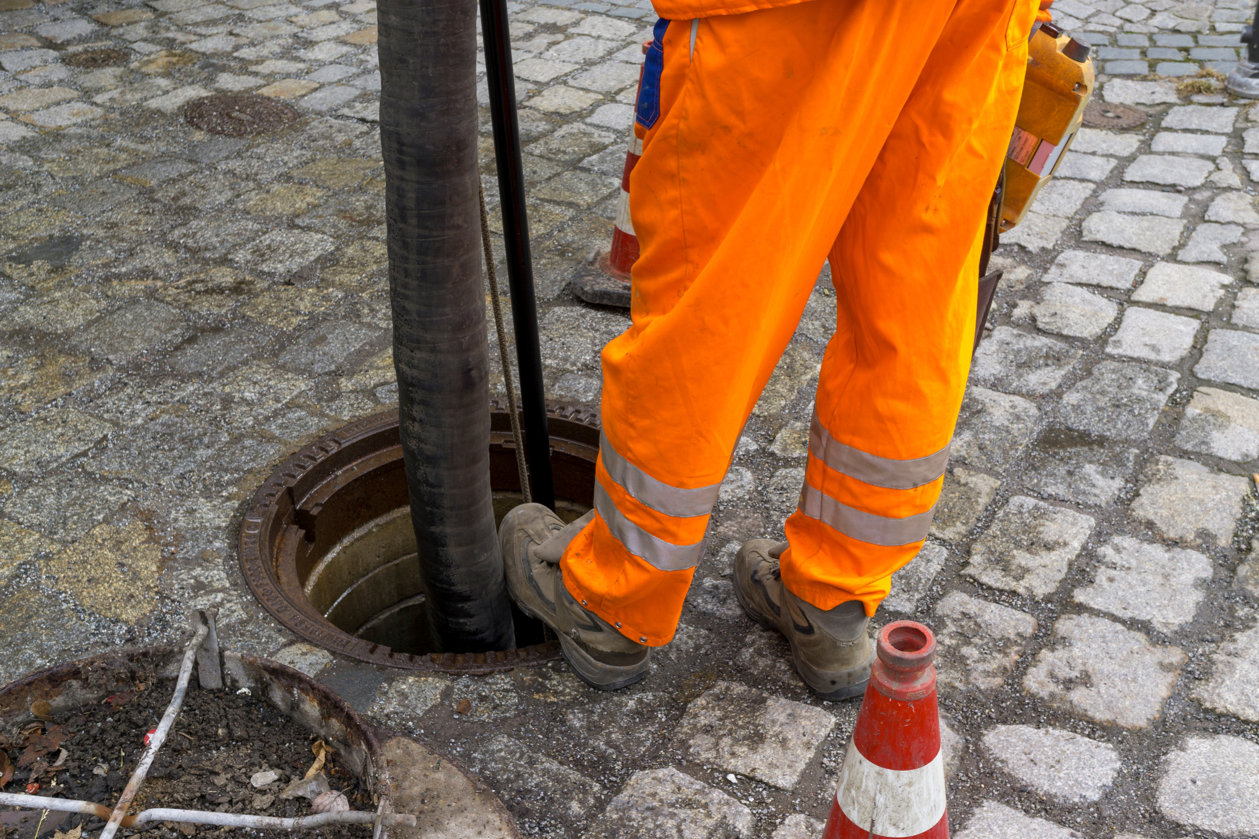 Sewage Drain Cleaning